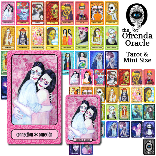photo about Printable Oracle Cards identify The Ofrenda Oracle 10 2 Studios