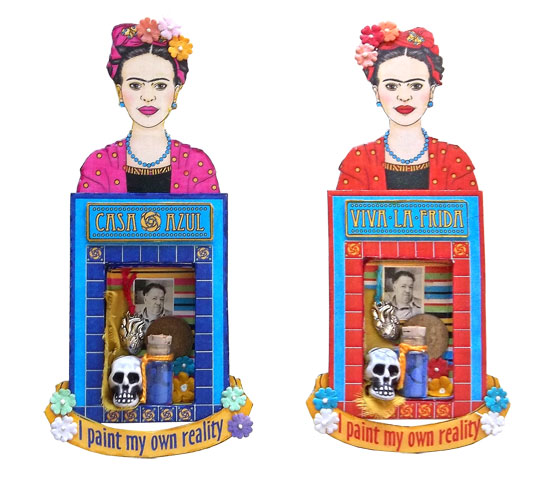 Frida Matchbox Shrines